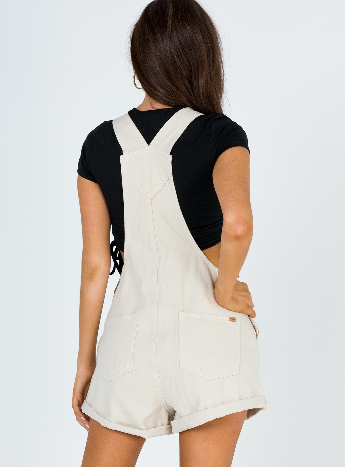 Thrills Alexa Overall Dirty White