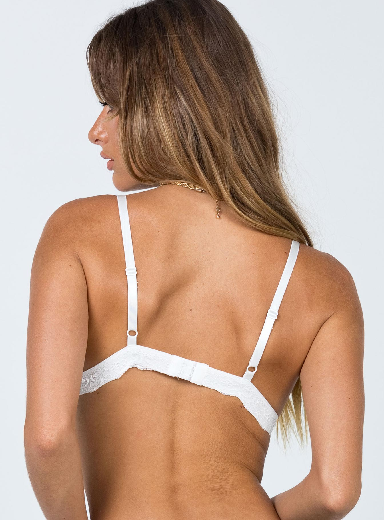Marly Bralette White