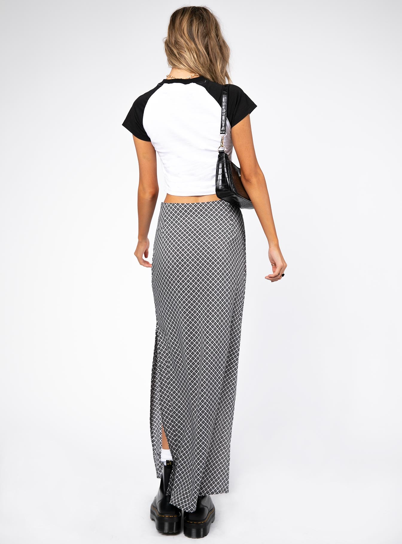 Motel Tinxi Midi Skirt