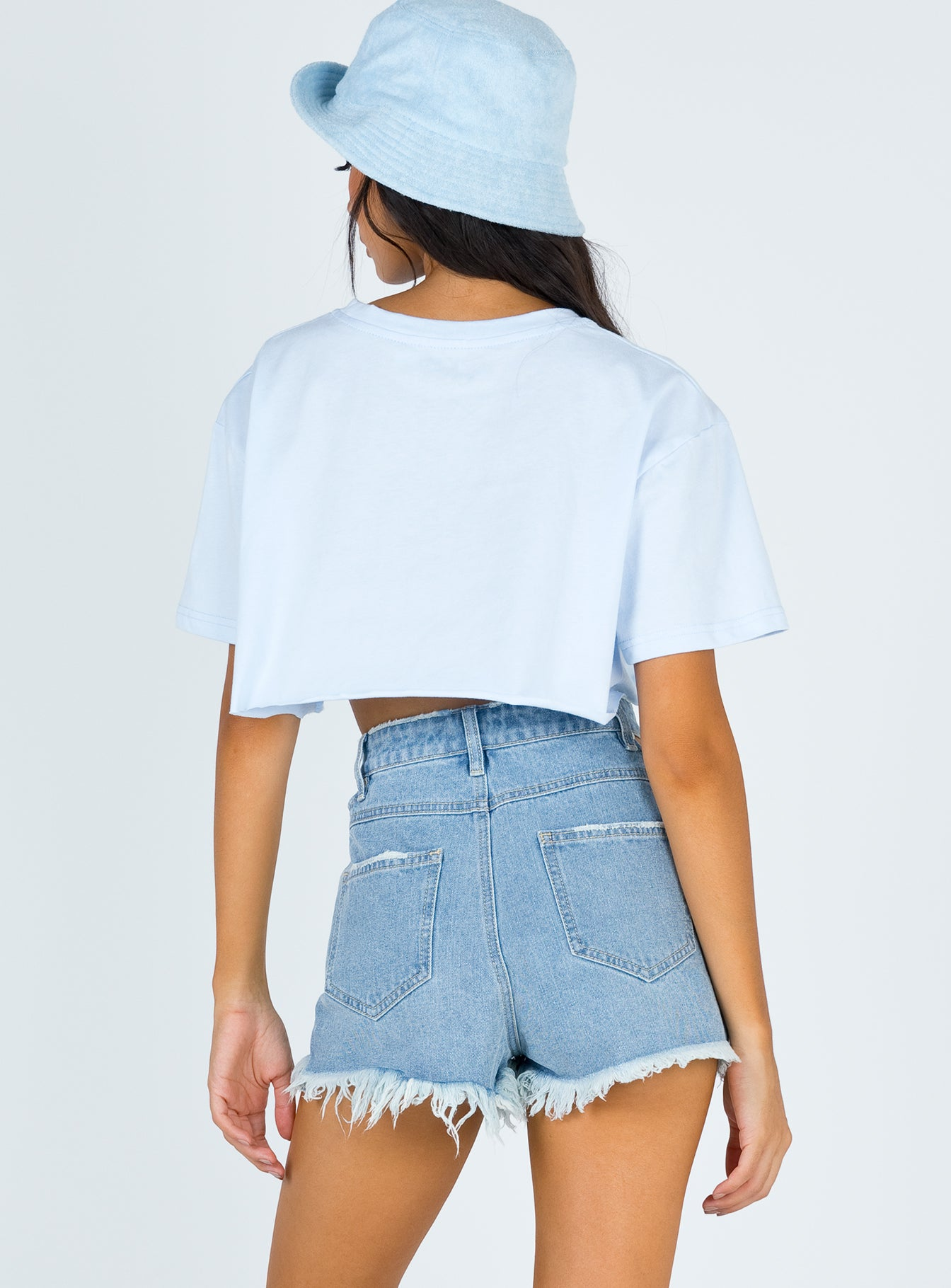 TWIIN Fortune Denim Short