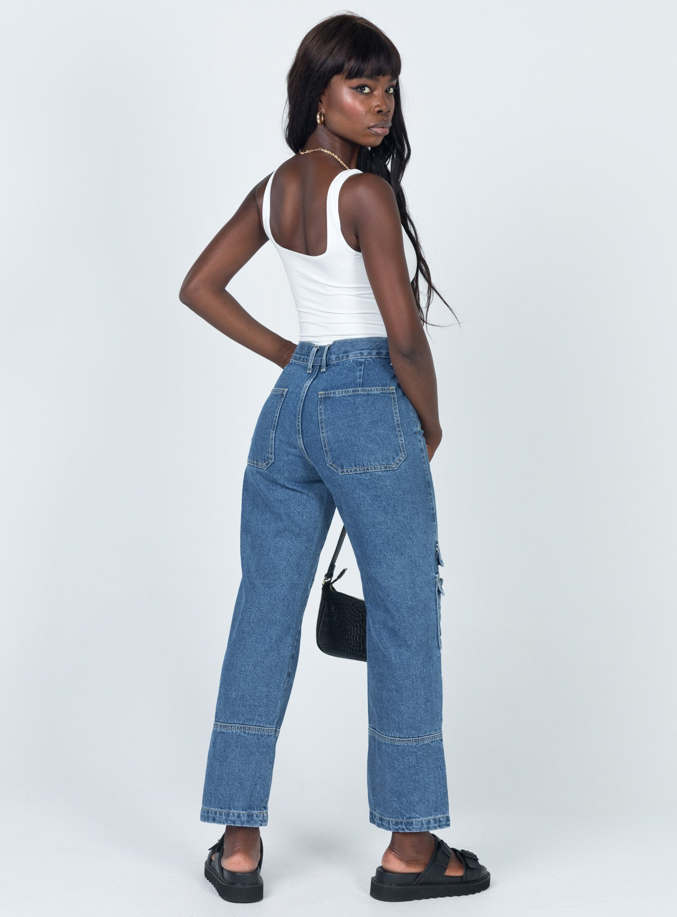 The Stacey Jean Dark Wash Denim