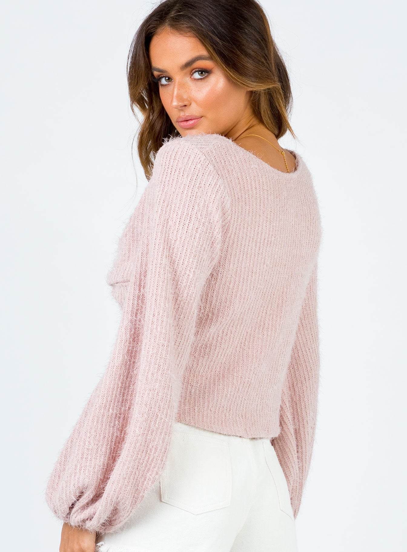 The Henrik Long Sleeve Baby Pink