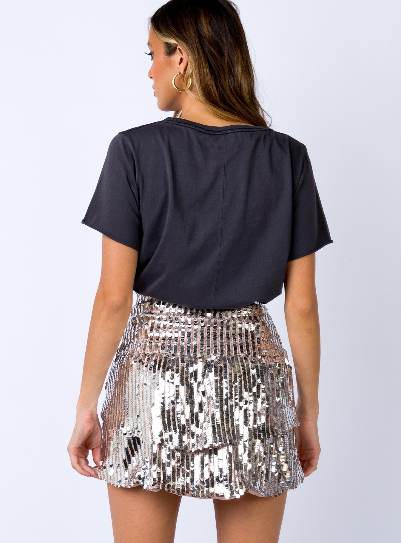 Triton Mini Skirt Rose Gold