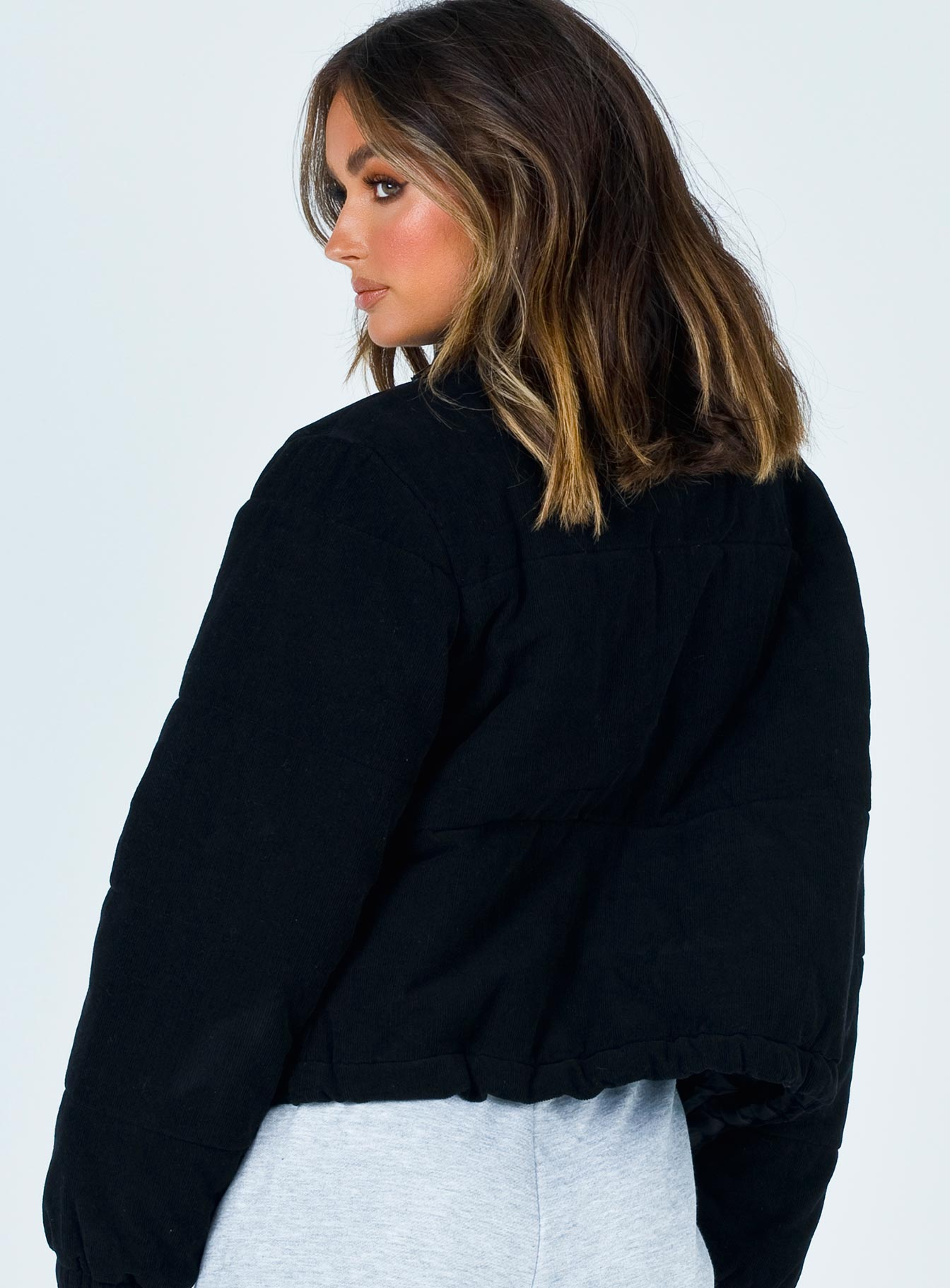 Polly Puffer Jacket Black