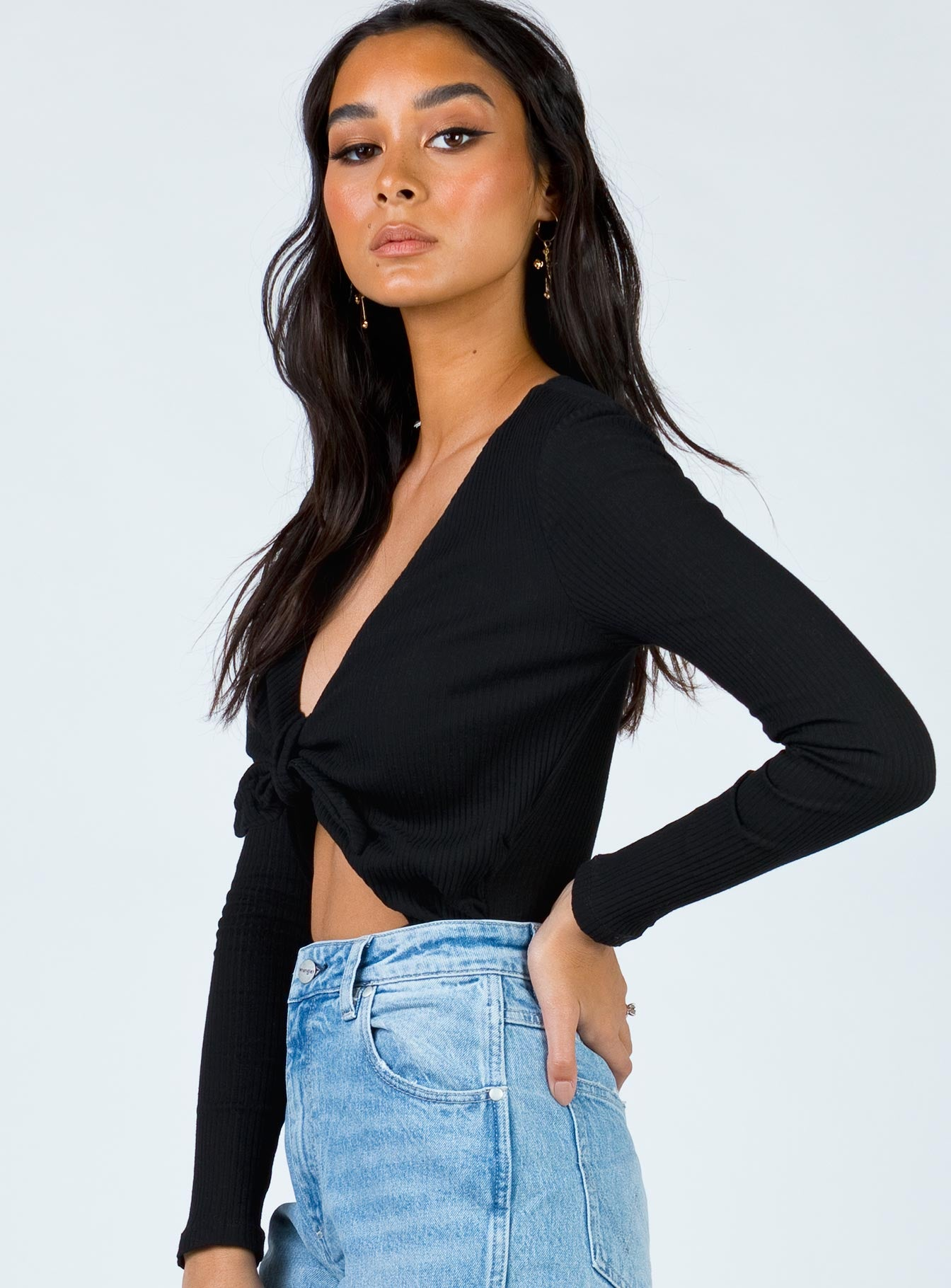 The Downs Bodysuit Black