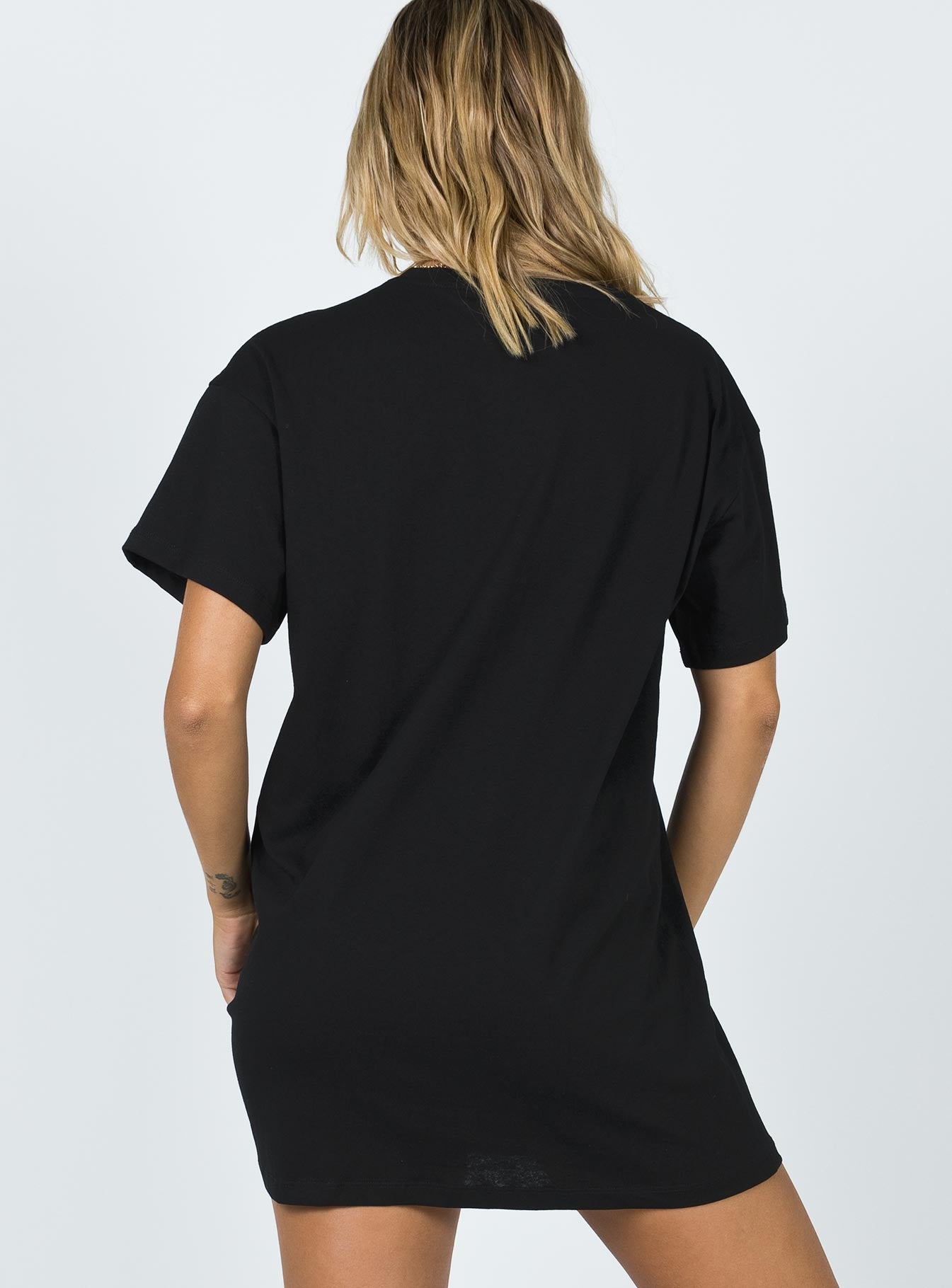 Harry Tee Mini Dress Black