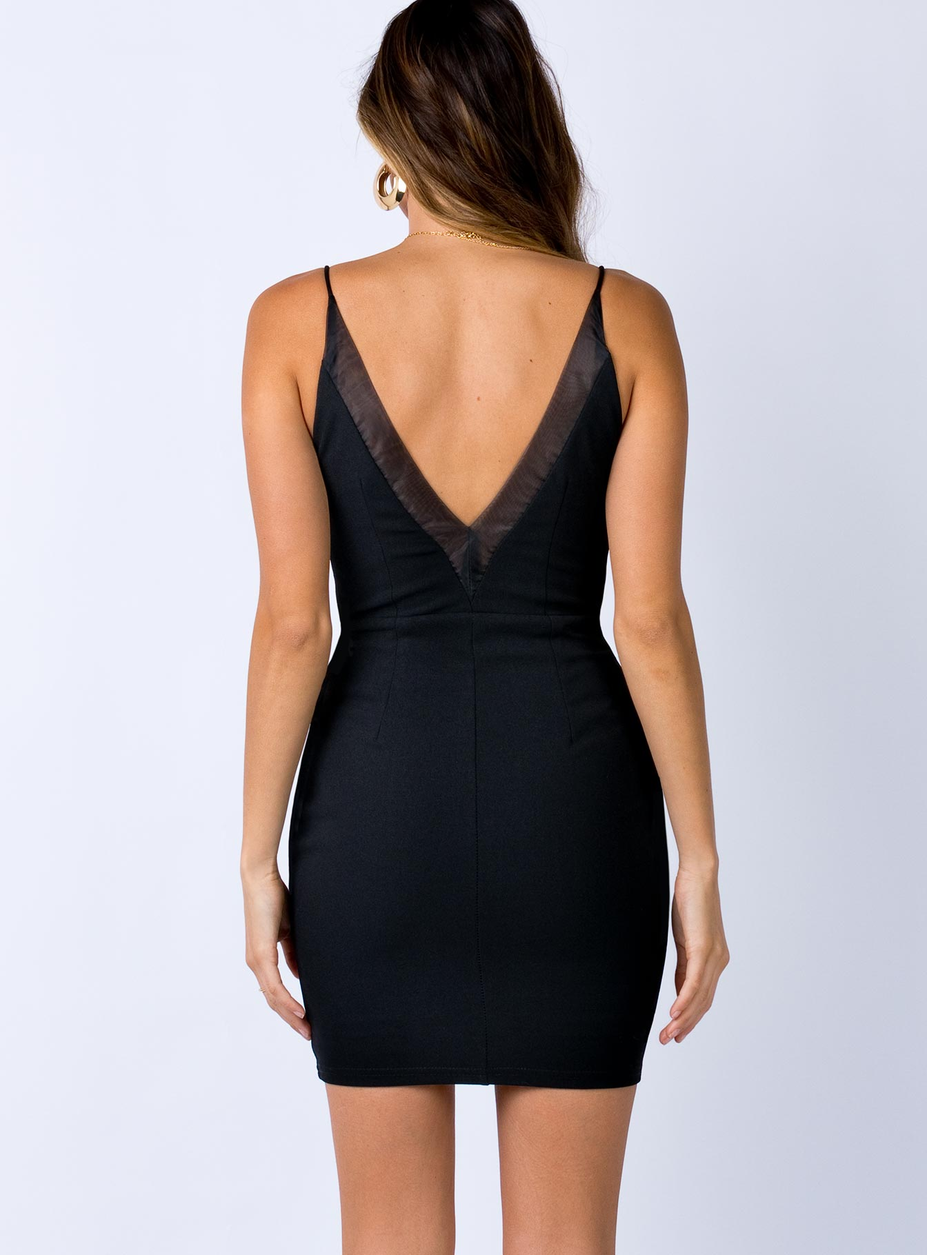 Ani Mini Dress Black