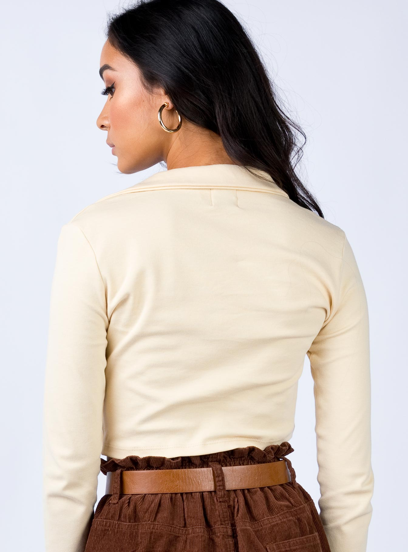 The Canton Top Beige