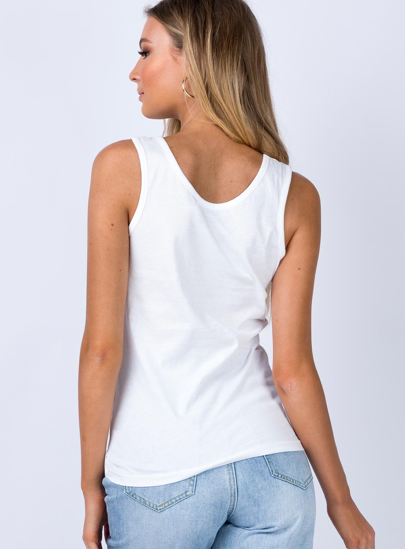 Calvin Klein Institutional Slim Tank White