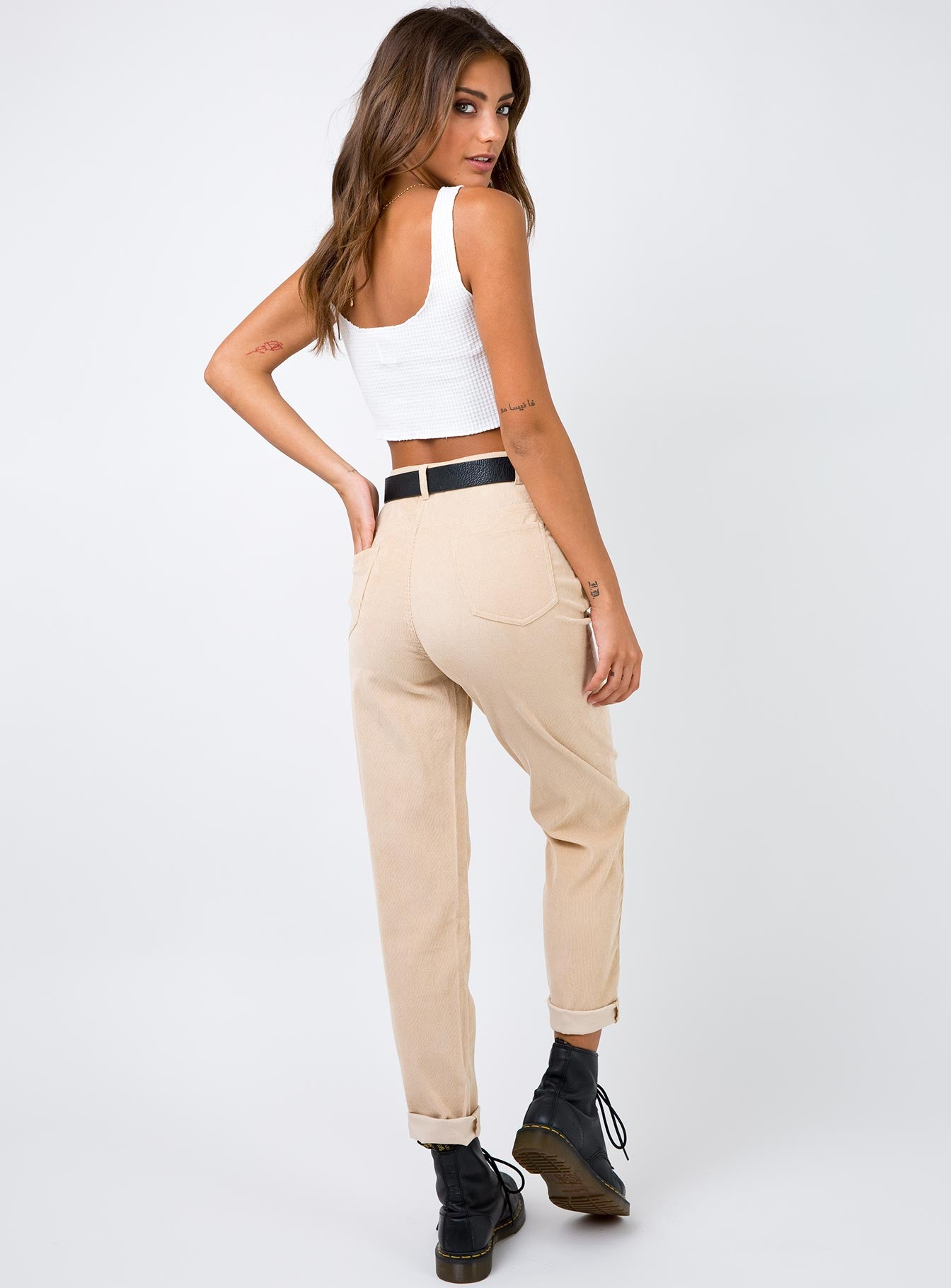The Kaia Pants Beige