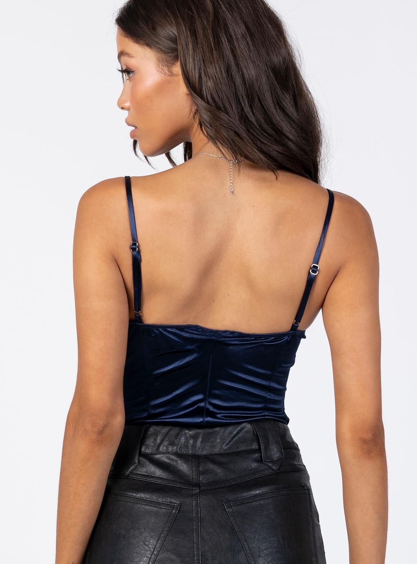 The Frank Bodysuit Navy