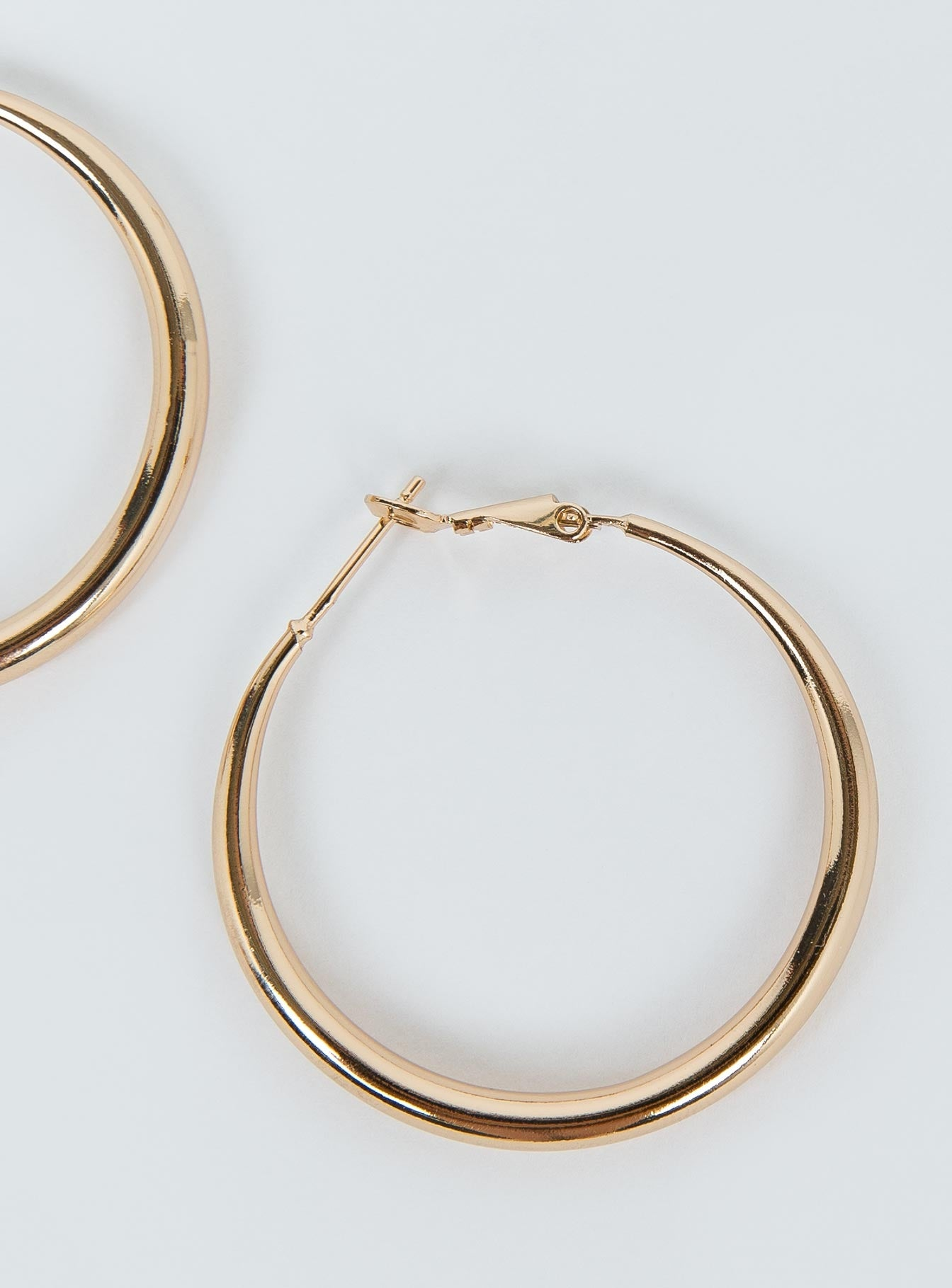 The Bronx Gold Hoops
