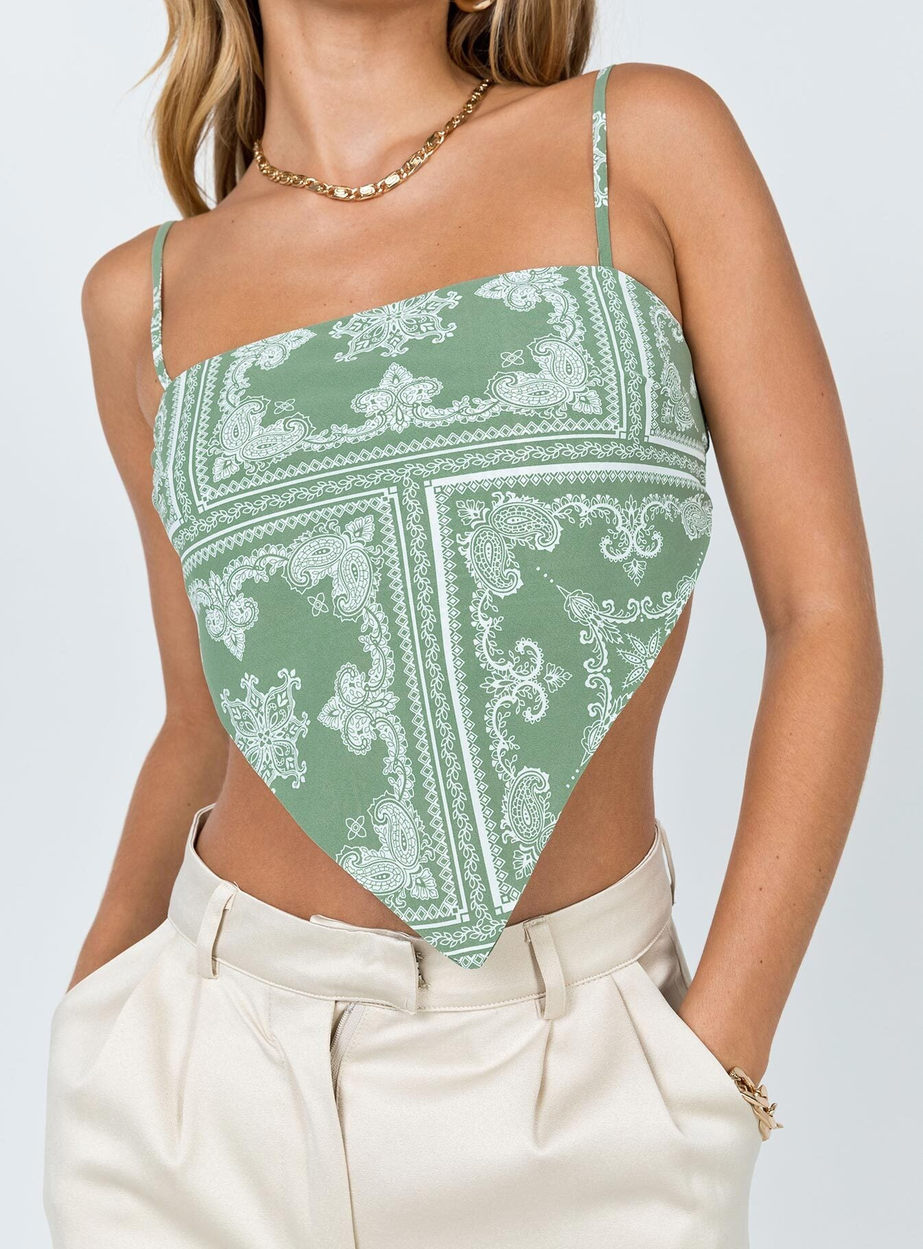 Lorna Top Green