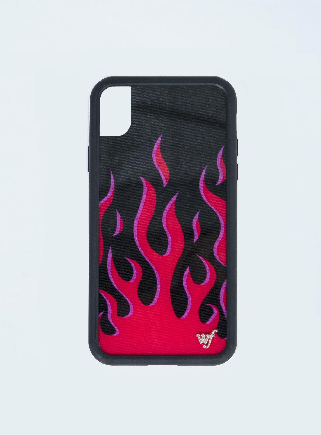 Wildflower Red Flames iPhone XR Case