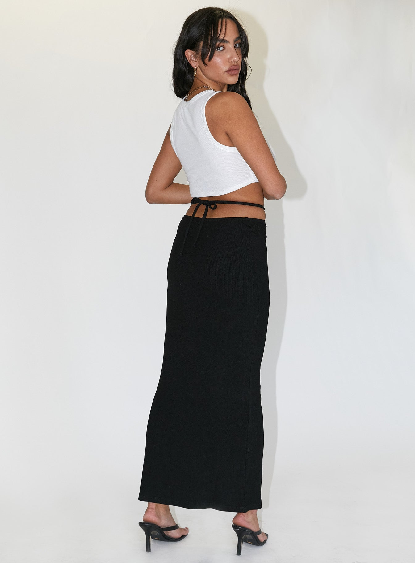 Kody Maxi Skirt Black