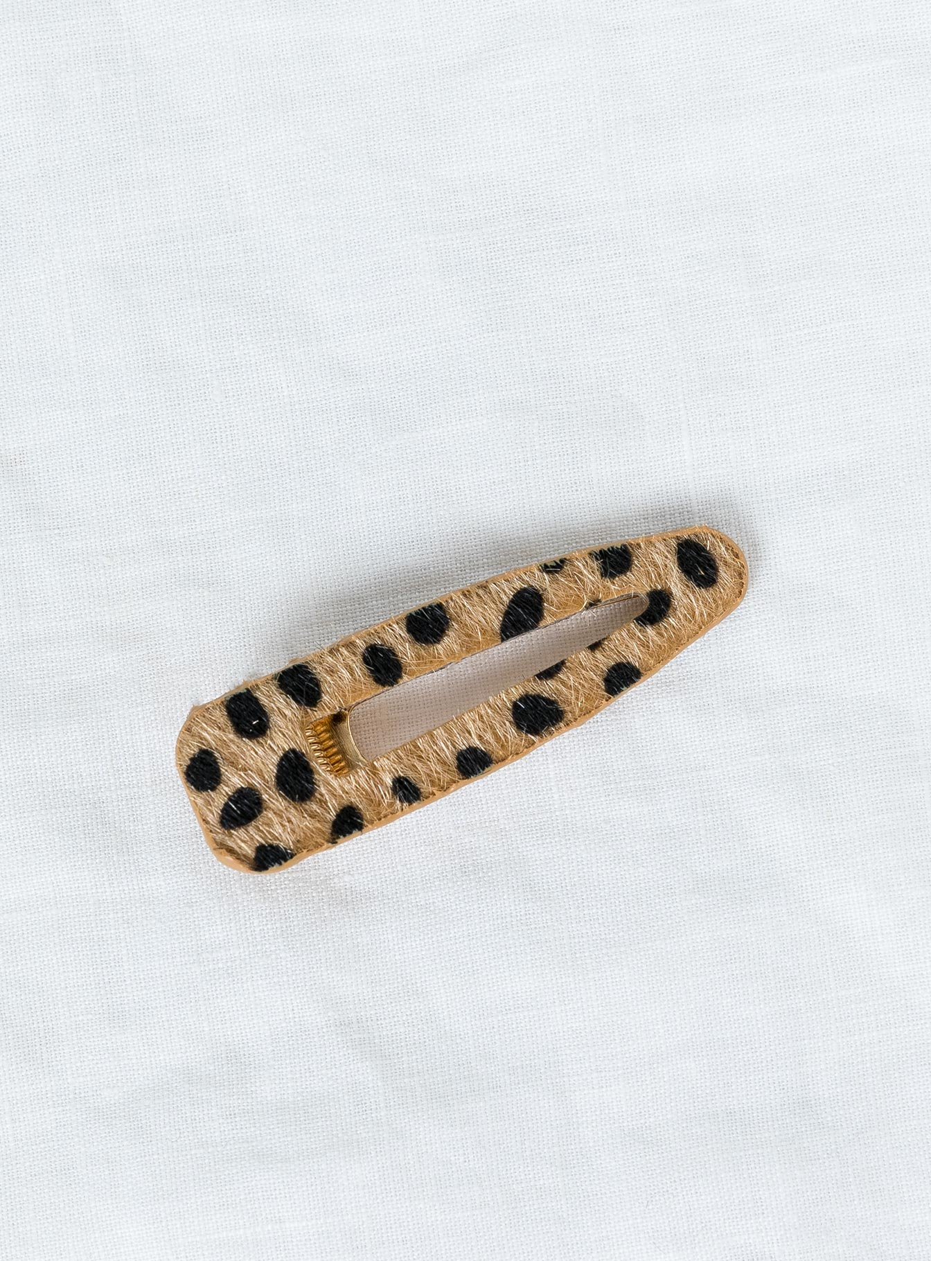 The Kitty Hair Clip Cheetah