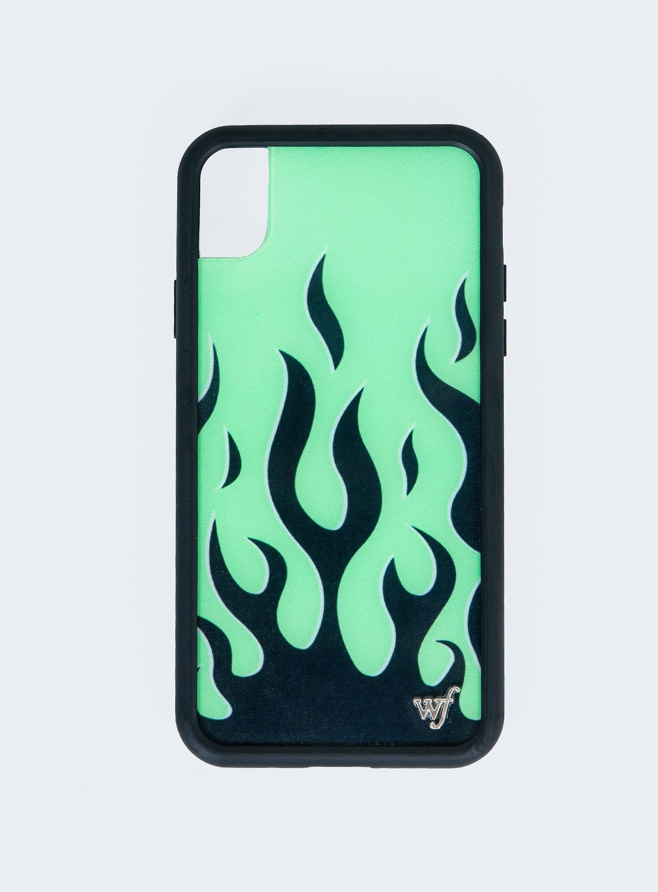 Wildflower Neon Flames iPhone XR Case