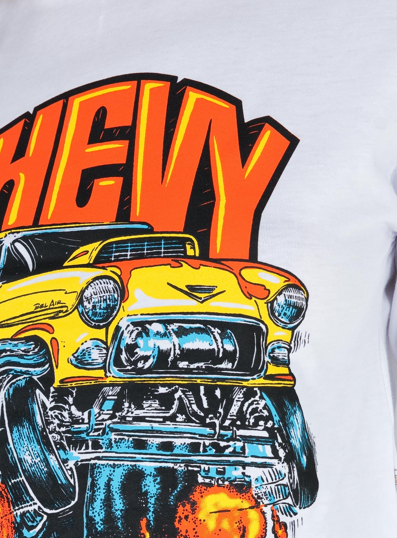 Brixton x Chevy 55 Heavy Long Sleeve Tee