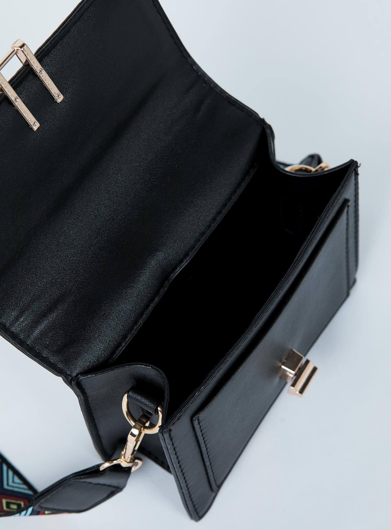 Lady On A Mission Bag Black