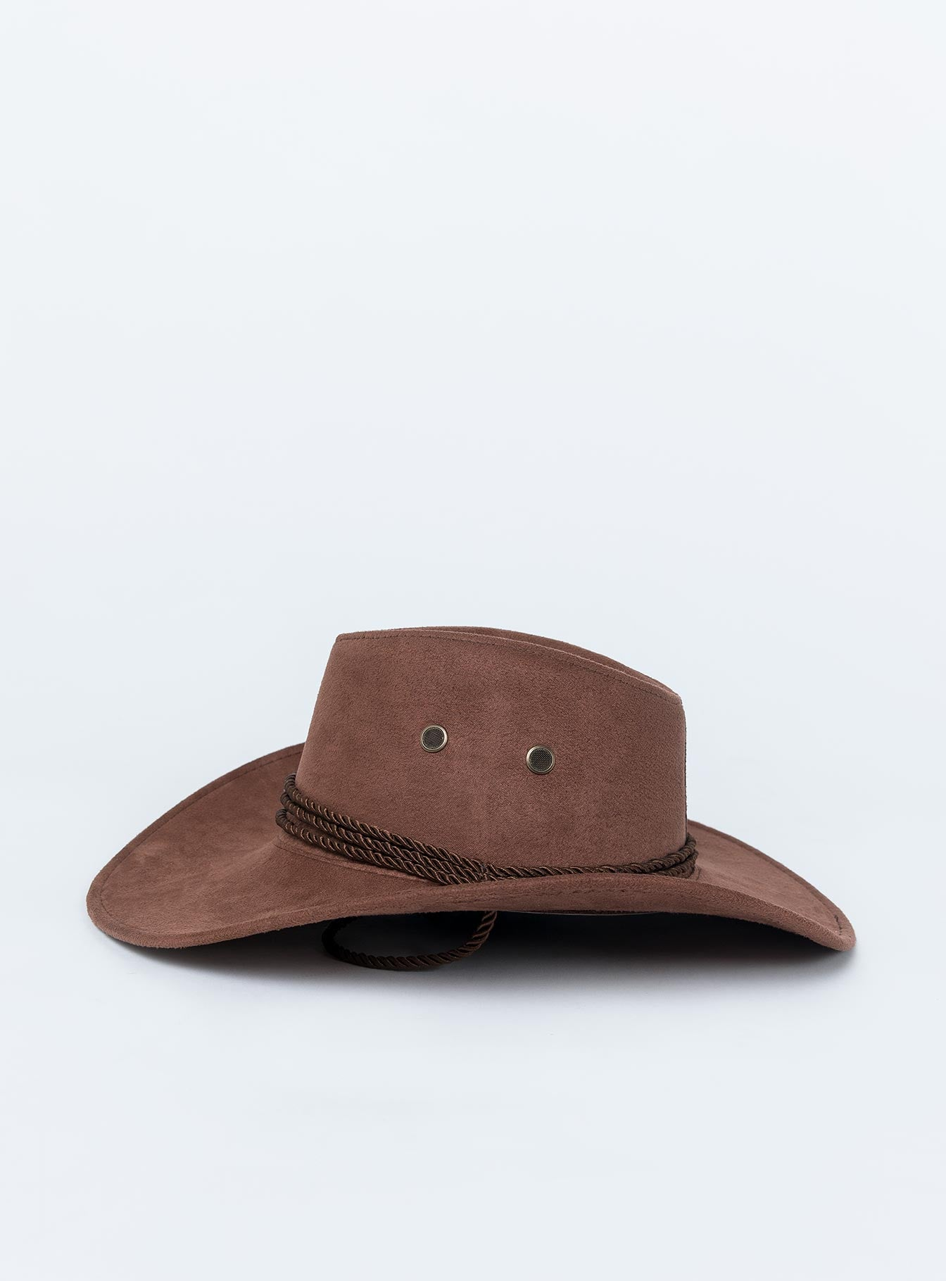 On My Own Hat Brown