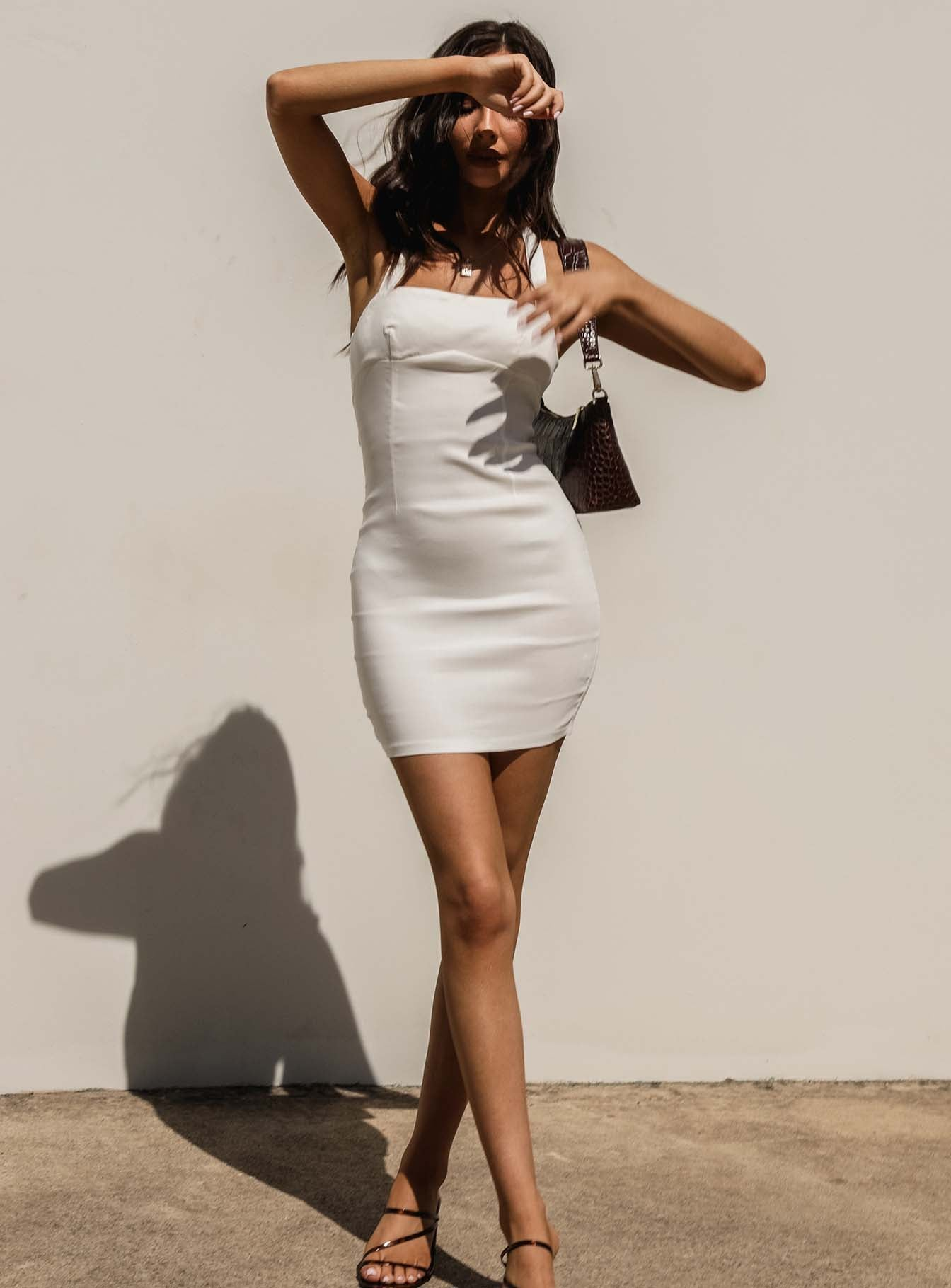 Alenda Mini Dress White