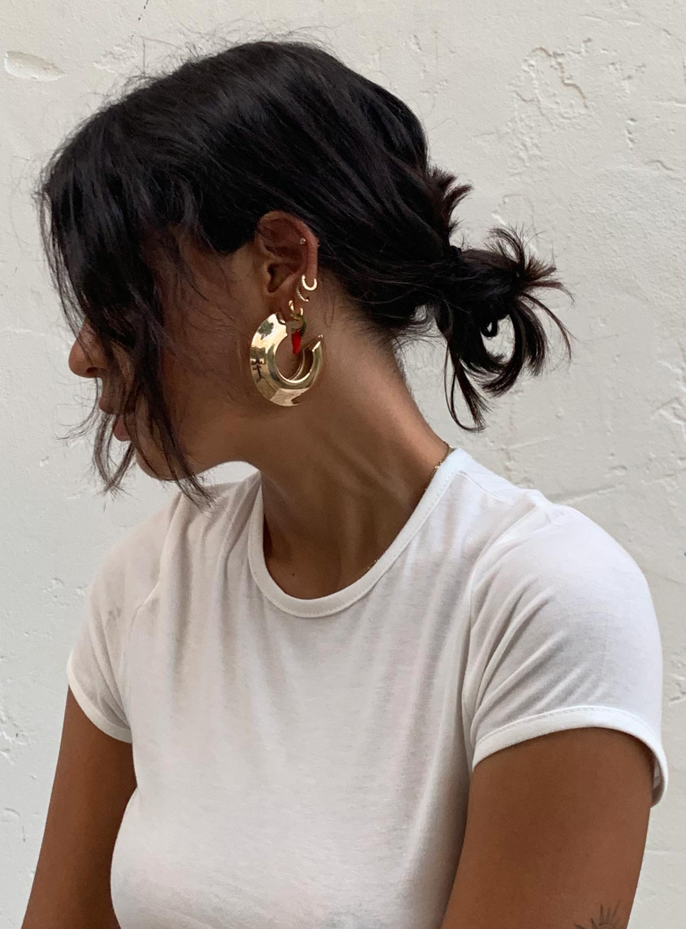 Dusse Hoop Earrings
