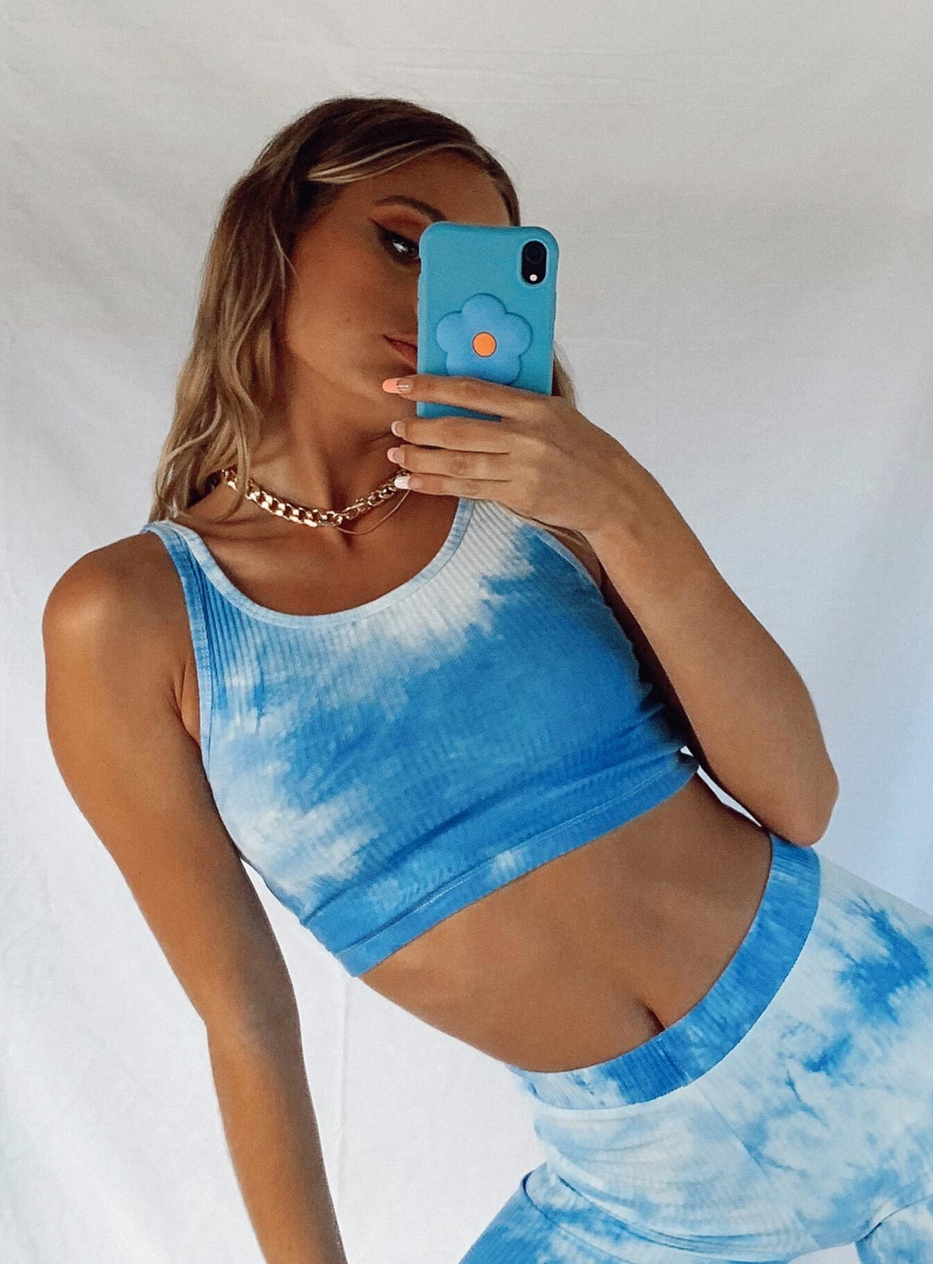 Lana Tank Top Blue