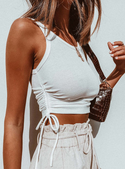 Madelyn Top White