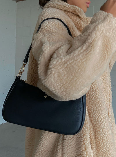 Peta & Jain Piper Bag Black Pebble