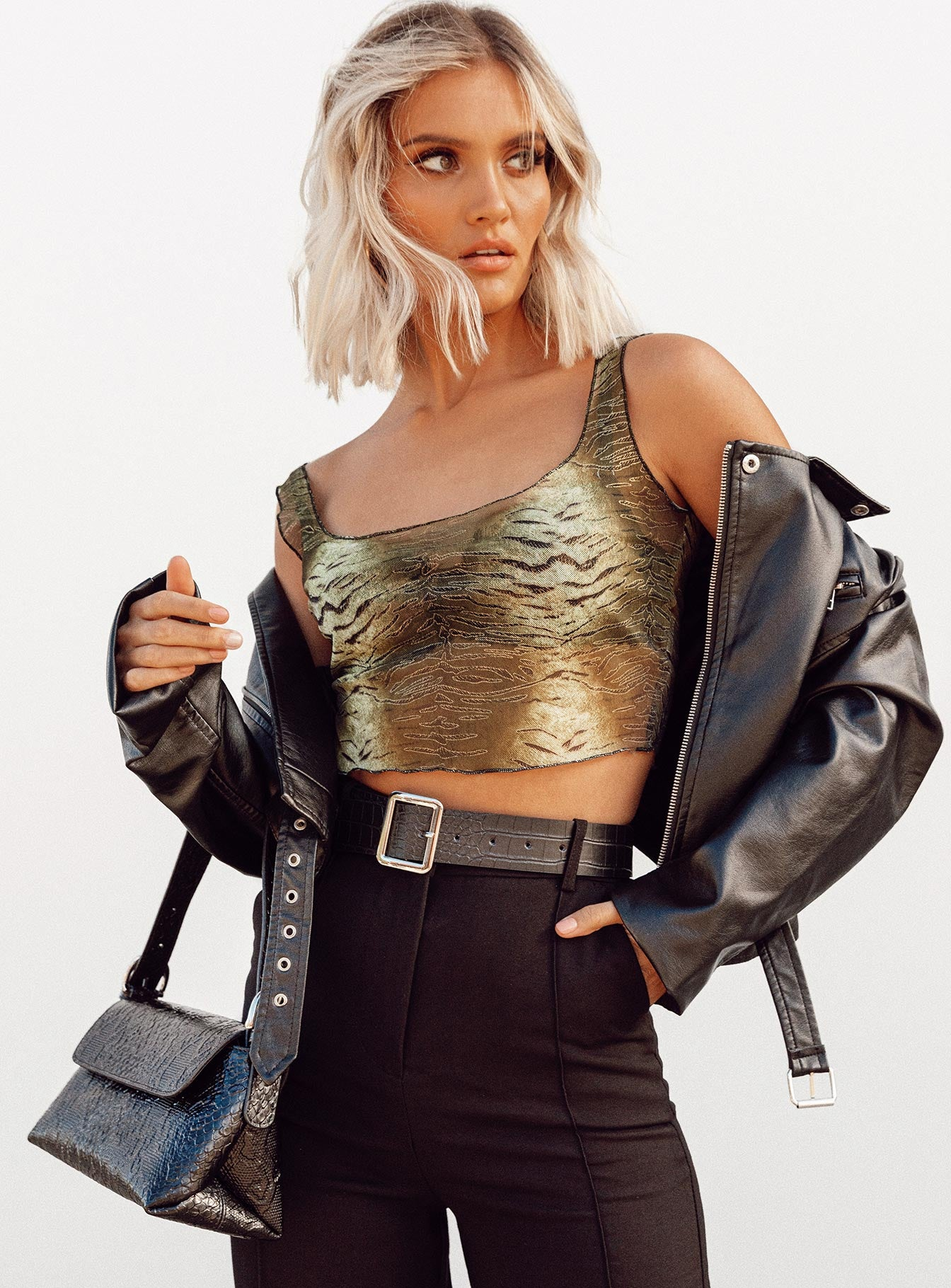 Rebel Girl Crop Top