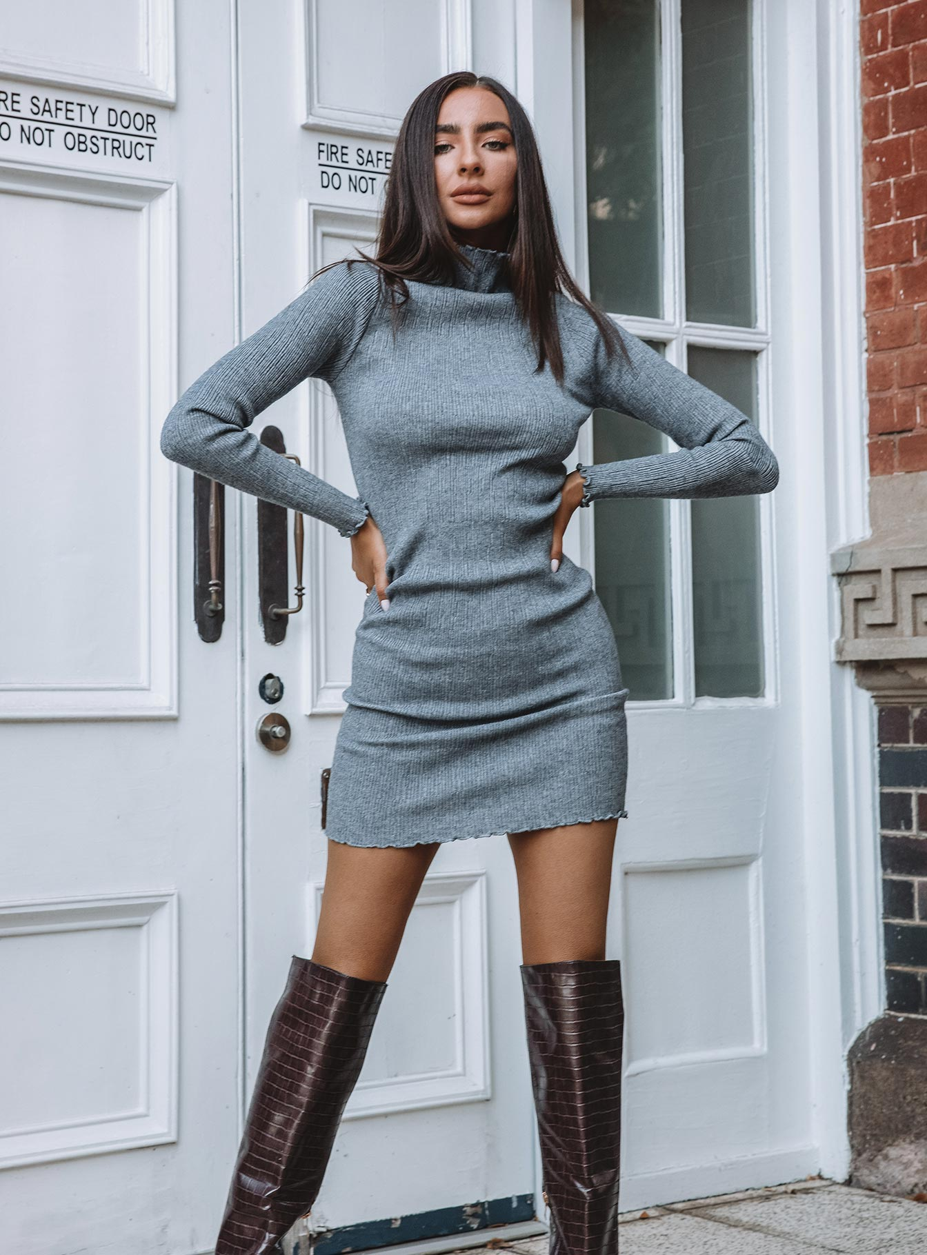 Verve Knit Mini Dress