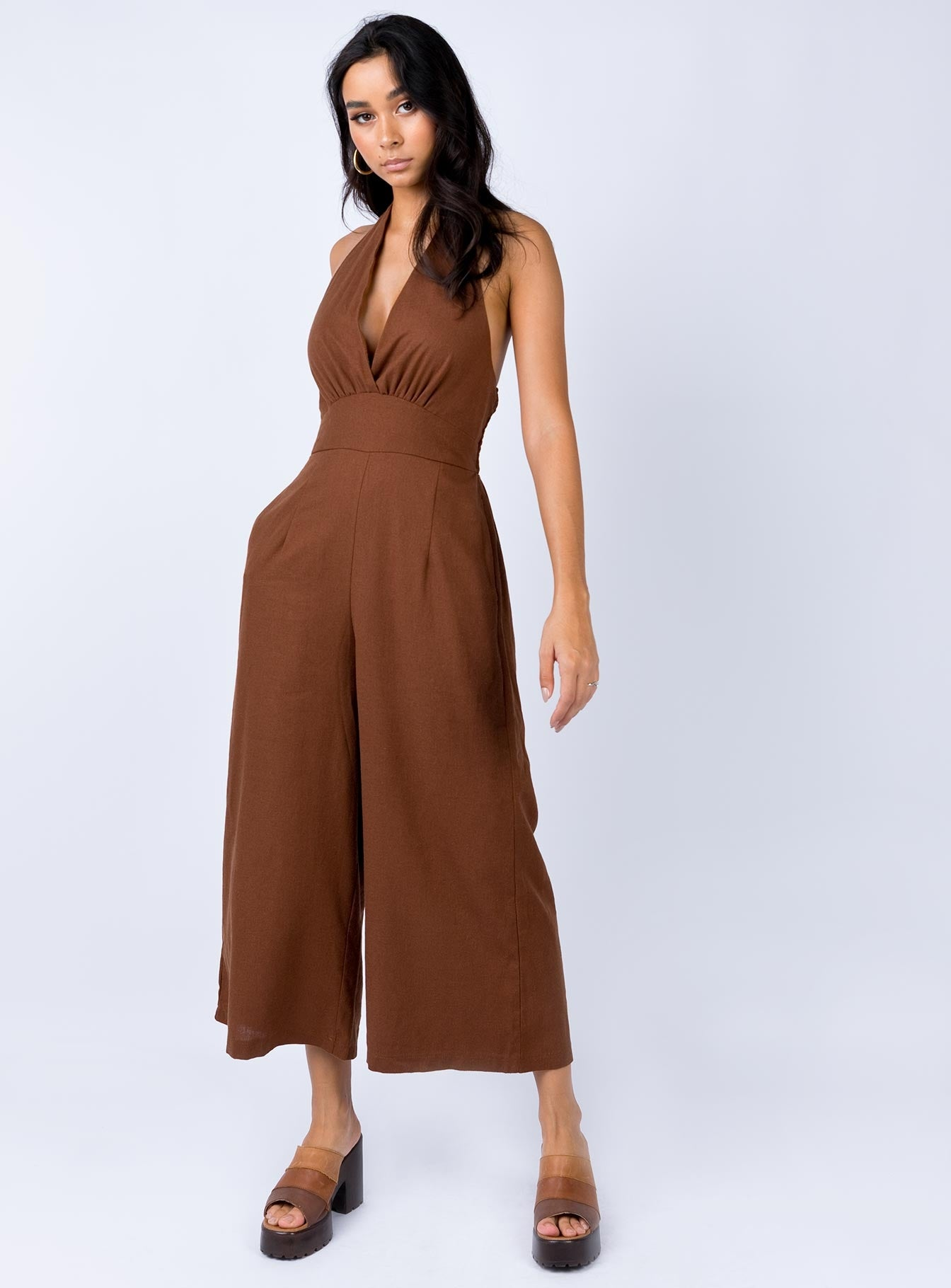 Bullard Jumpsuit Brown