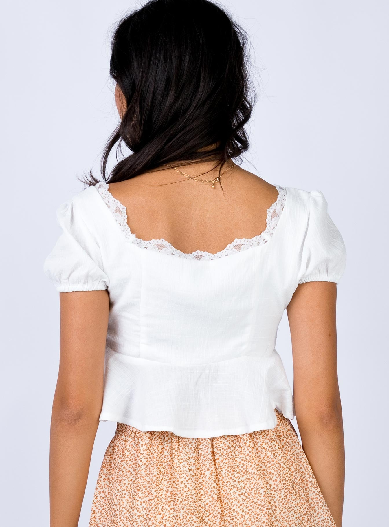 Elune Top White