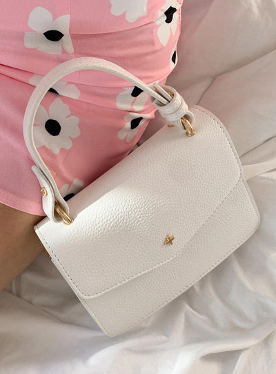 Peta & Jain Anna Mini Bag White