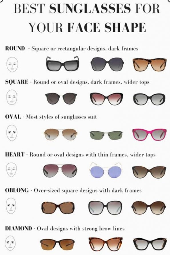 Black Round Women Sunglasses