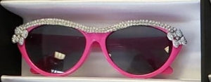 Retro Cat eye Girls Bowtie Sunglasses
