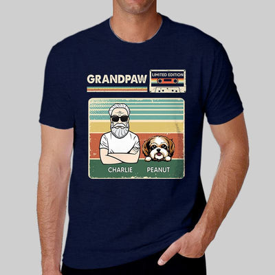 Apparel Grand Paw Dogs Limited Edition Personalized Shirt