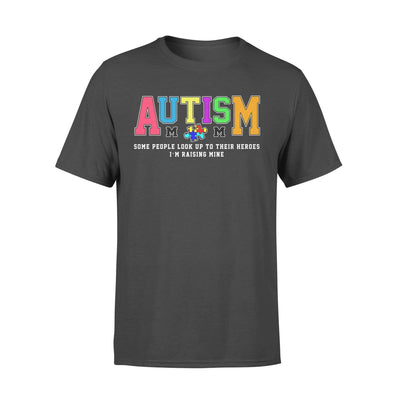 Clothing Raising My Hero Autism Shirt - Standard T-shirt - DSAPP S / Black
