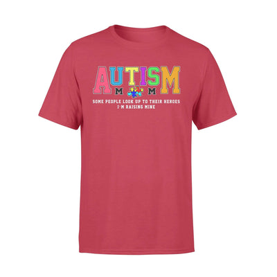 Clothing Raising My Hero Autism Shirt - Standard T-shirt - DSAPP S / Red