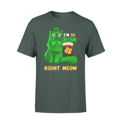 Clothing So Irish Right Meow Shirt - Standard T-shirt - DSAPP S / Forest