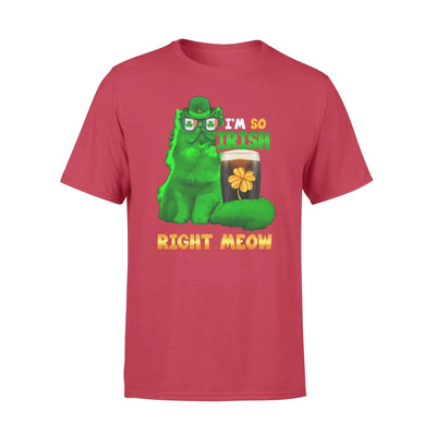 Clothing So Irish Right Meow Shirt - Standard T-shirt - DSAPP S / Red
