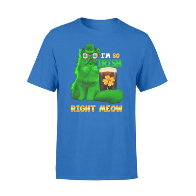 Clothing So Irish Right Meow Shirt - Standard T-shirt - DSAPP S / Royal