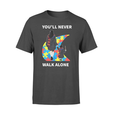 Clothing You'll Never Walk Alone HP Shirt - Standard T-shirt - DSAPP S / Black