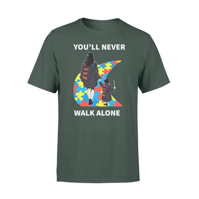 Clothing You'll Never Walk Alone HP Shirt - Standard T-shirt - DSAPP S / Forest