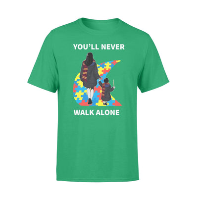 Clothing You'll Never Walk Alone HP Shirt - Standard T-shirt - DSAPP S / Kelly
