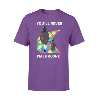 Clothing You'll Never Walk Alone HP Shirt - Standard T-shirt - DSAPP S / Purple