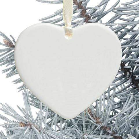 Heart Ornament Memorial Cardinal Hard To Forget Personalized Heart Ornament