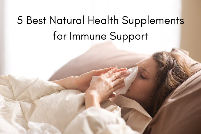 Five Best Natural Health Supplements for Immune Support