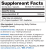 Agaricus Bio - Supplement Facts
