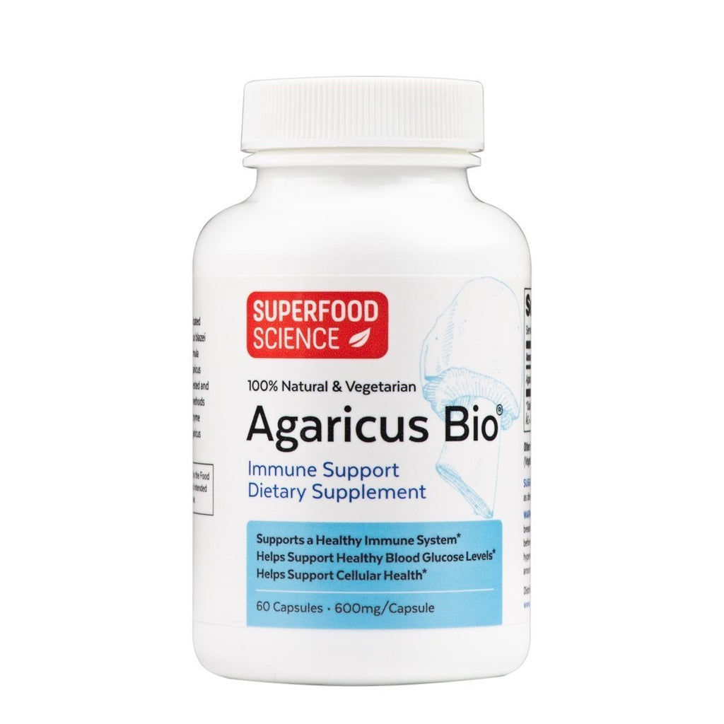 Agaricus Bio® Wellness Powder Capsules